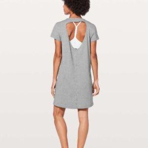 Lululemon Day Tripper Dress Heathered Medium Grey